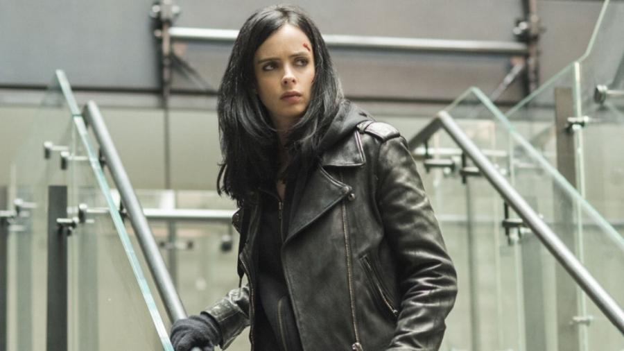 Back in Black: Krysten Ritter in the title role of Netflix's  Jessica Jones