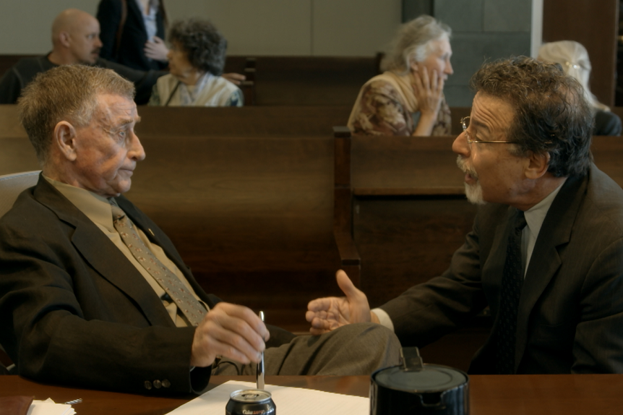 Free Fall: Michael Peterson and his lawyer David Rudolf in  The Staircase