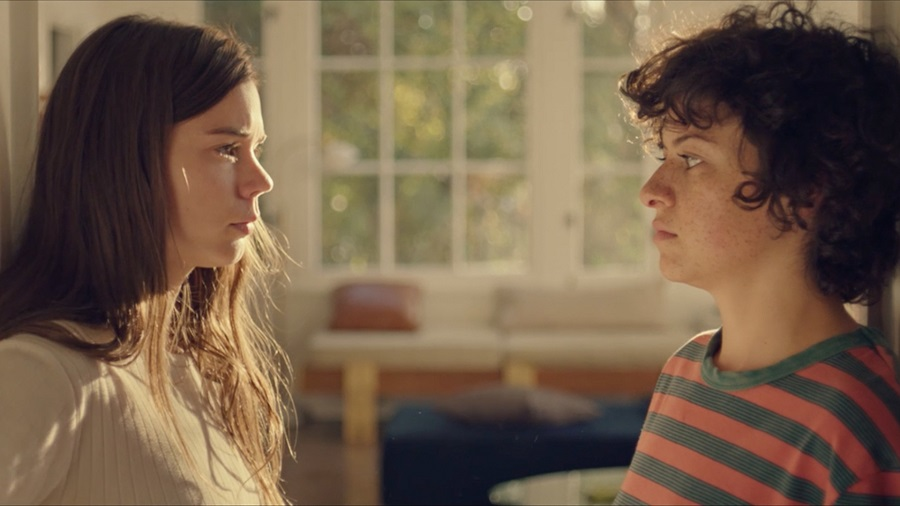 24 Hour Party People: Laia Costa (Sergio) and Alia Shawkat (Naima) in  Duck Butter