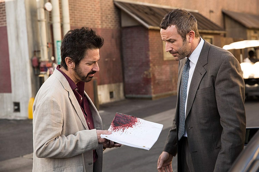 Paper Cuts: Ray Romano (Rick) and Chris O'Dowd (Miles) in  Get Shorty