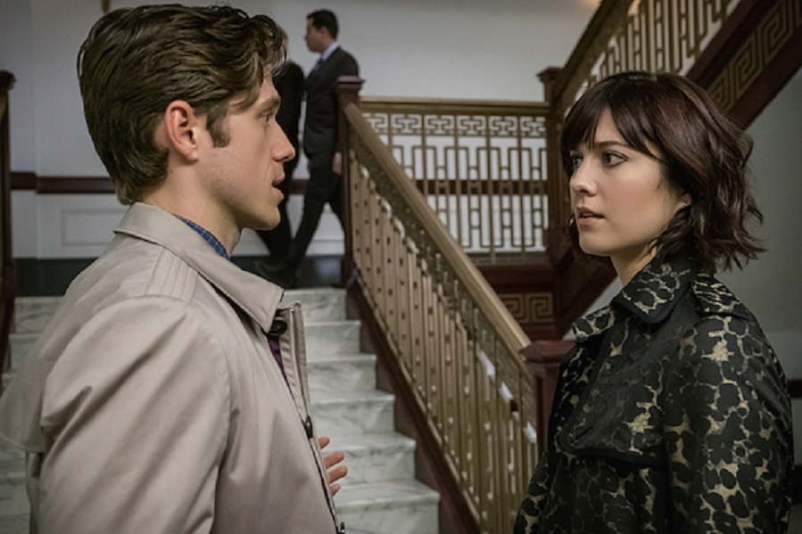 A Bug's Life: Aaron Tveit (Gareth) and Mary Elizabeth Winstead (Laurel) in Stan's  BrainDead