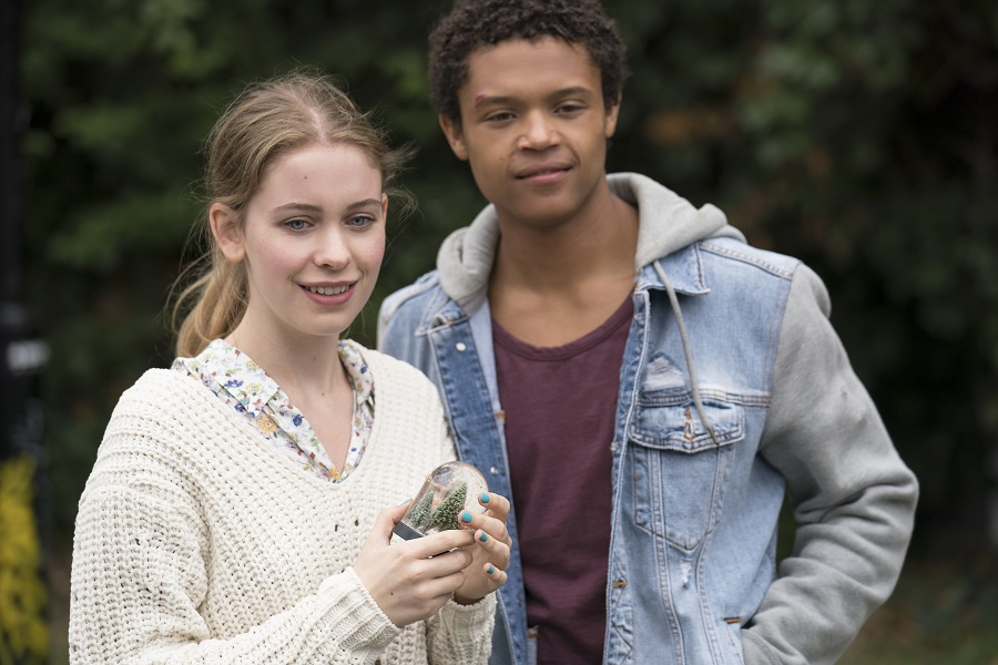 Change Agent: Sorcha Groundsell (June) and Percelle Ascott (Harry) in  The Innocents