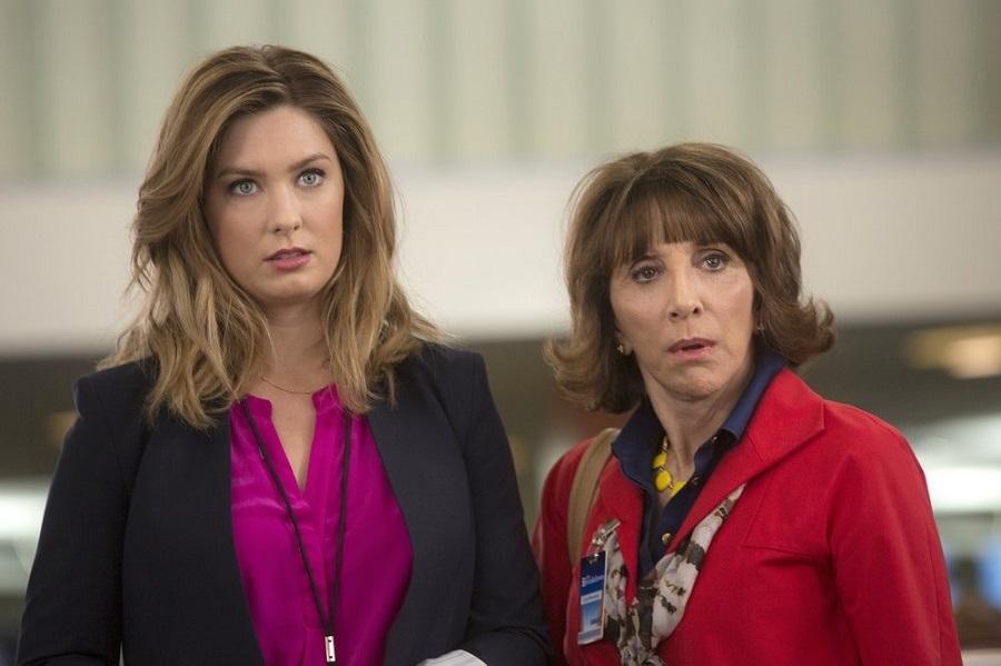 Anchors Away: Briga Heelan (Katie) and Andrea Martin (Carol) in  Great News
