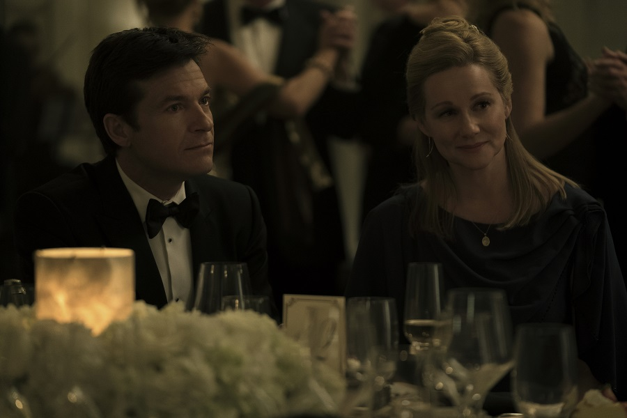 Married to the Mob: Laura Linney (Wendy) and Jason Bateman (Marty) in  Ozark