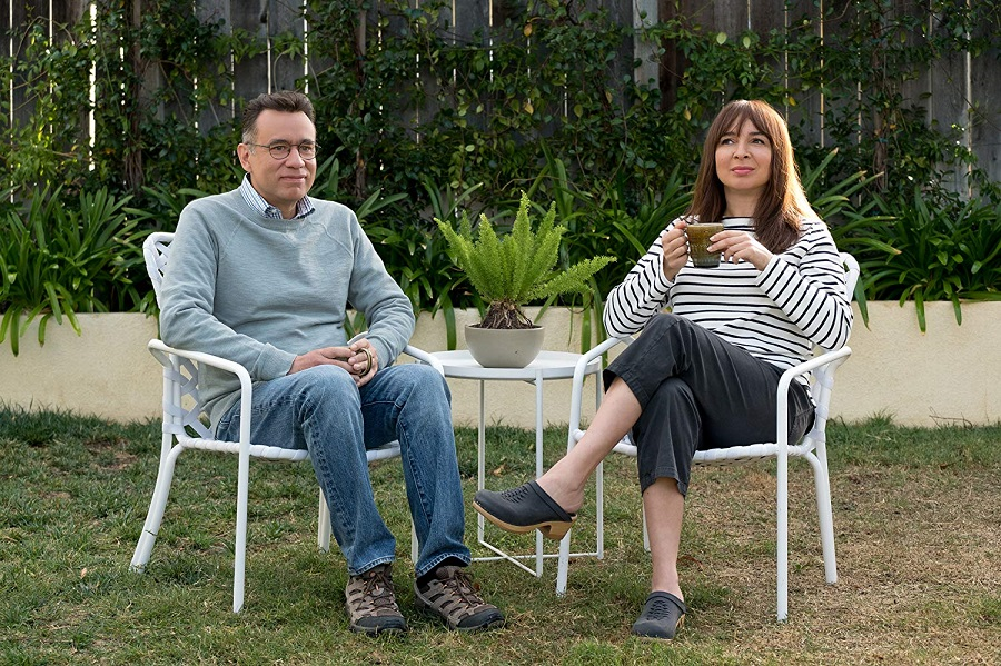 Starting Over: Fred Armisen (Oscar) and Maya Rudolph (June) in  Forever