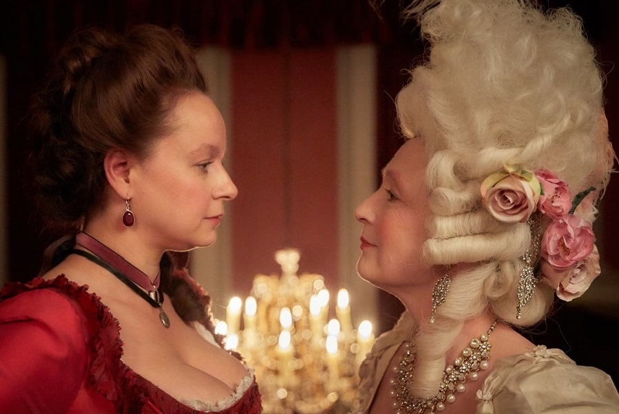 Boss Level: Samantha Morton (Margaret Wells) and Lesley Manville (Lydia Quigley) in  Harlots