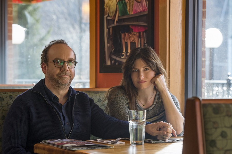 Parental Leave: Paul Giamatti (Richard) and Kathryn Hahn (Rachel) in  Private Life