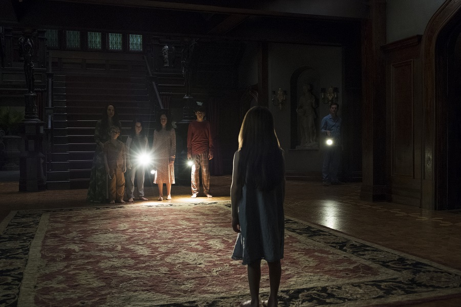 Night Terrors: The Crain family after dark in  The Haunting of Hill House