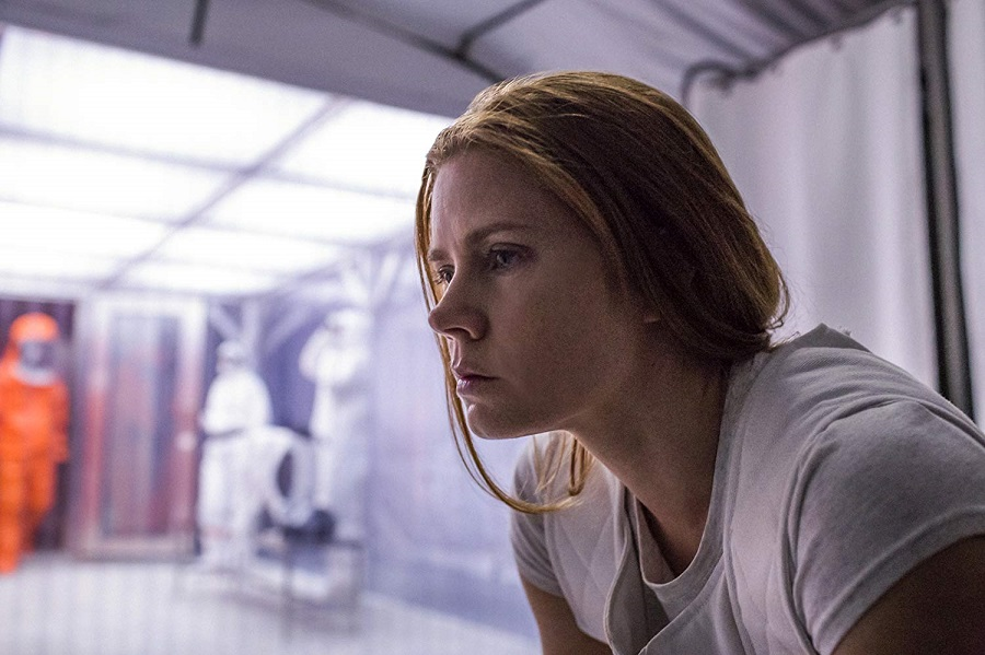 Close Encounters: Amy Adams (Louise Banks) in  Arrival