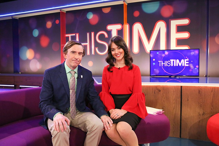 Hands On Experience: Steve Coogan (Alan) and Susannah Fielding (Jennie)