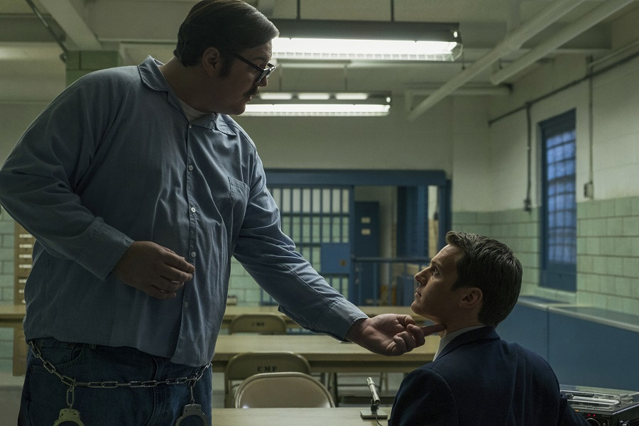 Jailhouse Blues: Cameron Britton (Ed Kemper) and Jonathan Groff (Holden Ford) in  Mindhunter