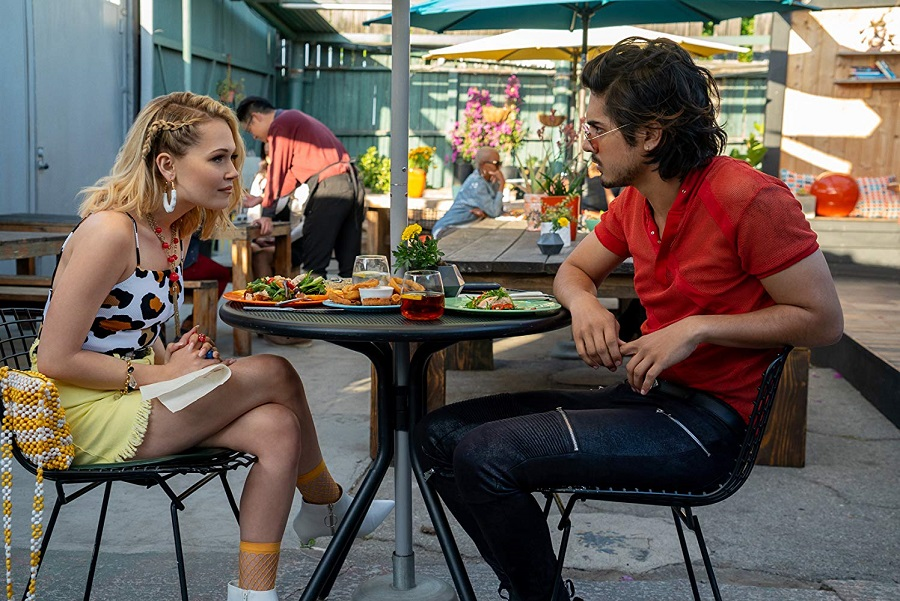 Failure to Lunch: Kelli Berglund (Carly) and Avan Jogia (Ulysses) in  Now Apocalypse