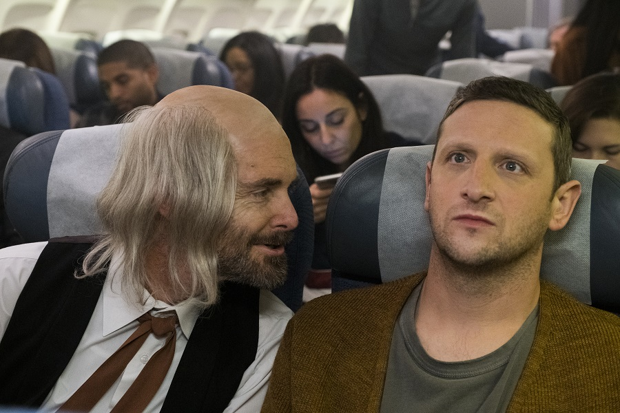 Plane Relief: Will Forte and Tim Robinson in a sketch from  I Think You Should Leave