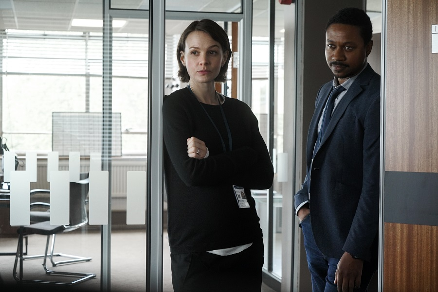 Watching the Detectives: Carey Mulligan (Kip) and Nathaniel Martello-White (Nathan) in  Collateral