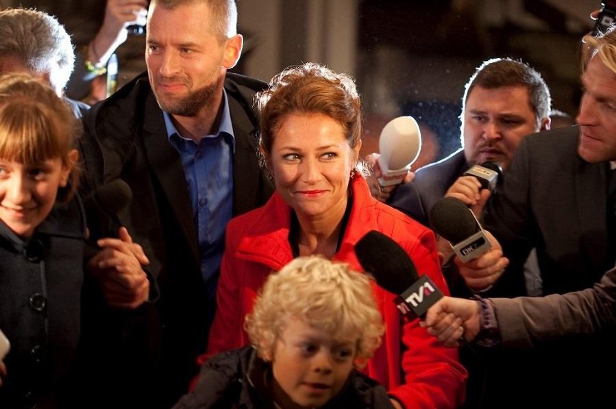 Vote Winner: Sidse Babett Knudsen (Birgitte) in  Borgen