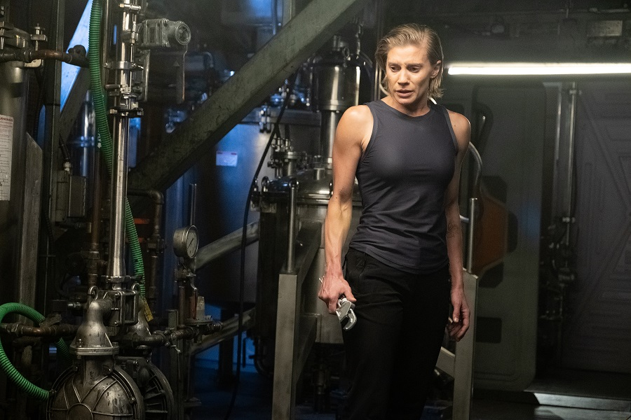 Spanner in the Works: Katee Sackhoff (Niko) in  Another Life
