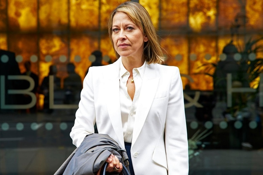Family Law: Nicola Walker (Hannah Stern) in  The Split
