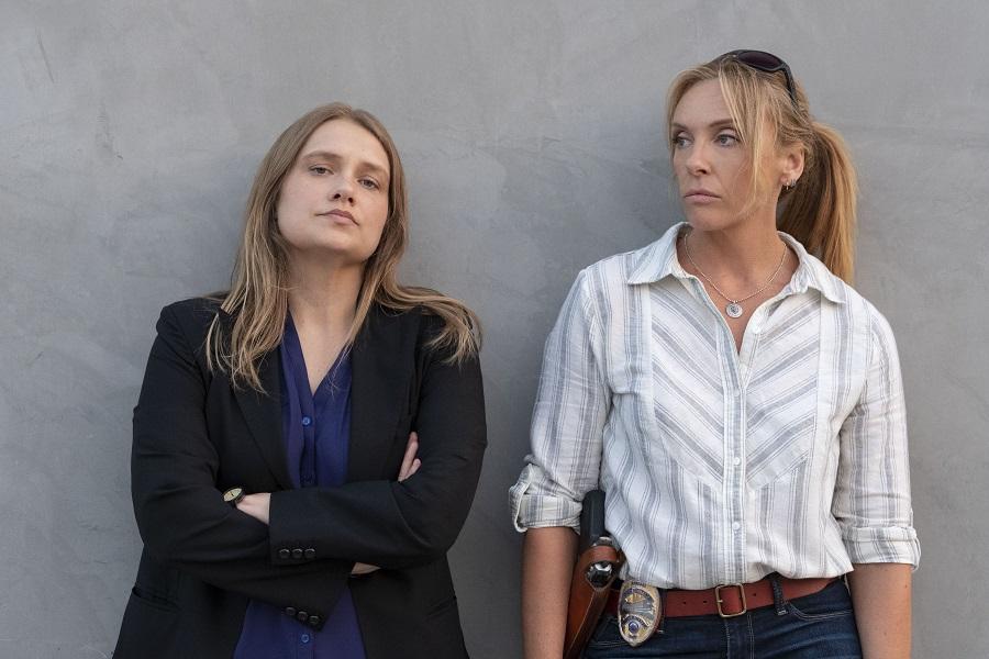 True Detectives: Merritt Wever (Karen Duvall) and Toni Collette (Grace Rasmussen) in  Unbelievable