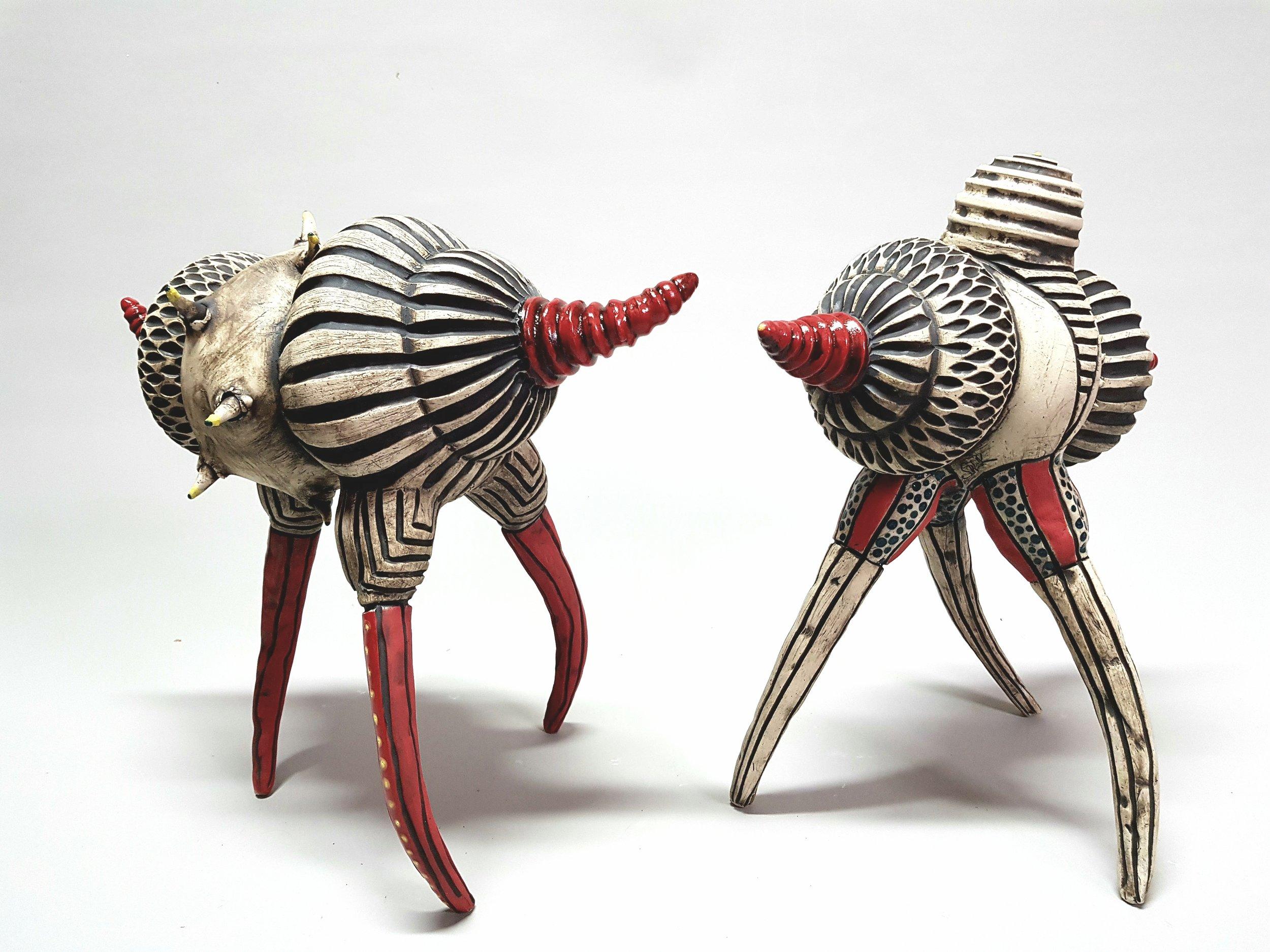 Ceramic work by Sally Walk