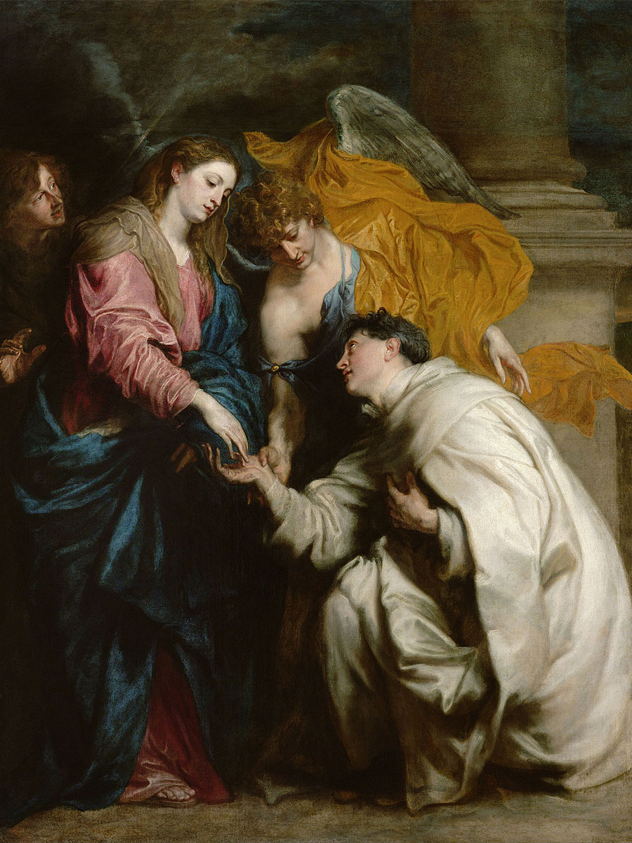 The Vision of the Blessed Hermann Joseph   - c. 1629 - 1630
