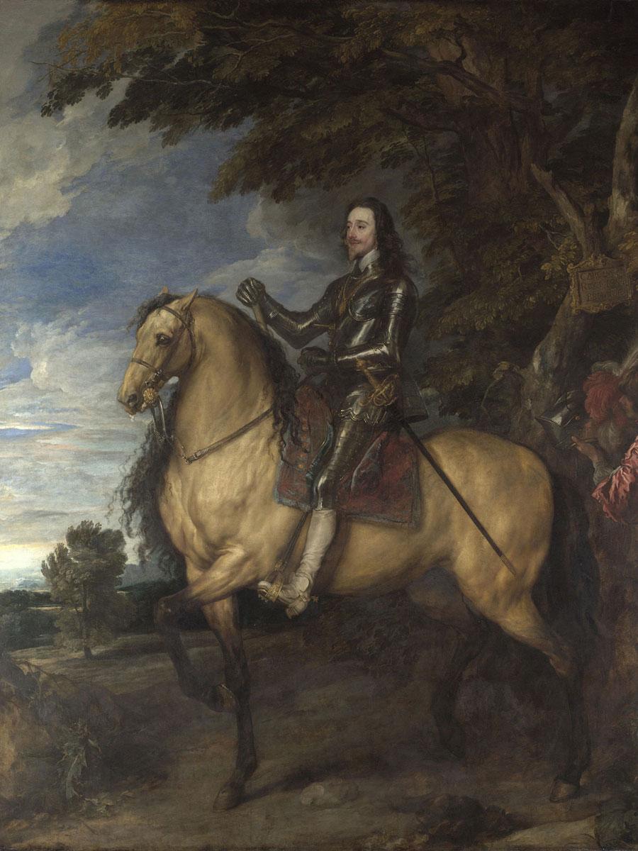 Equestrian Portrait of Charles I   - c. 1637 - 1638