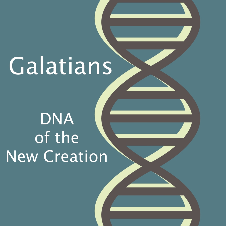 Galatians: DNA of the New Creation - Paul writes the Letter to the Galatians to share the amazing and freeing truth with the churches at Galatia that the free grace and forgiveness of God in Jesus is not only how we begin our relationship with God but it is how we advance in it as well...