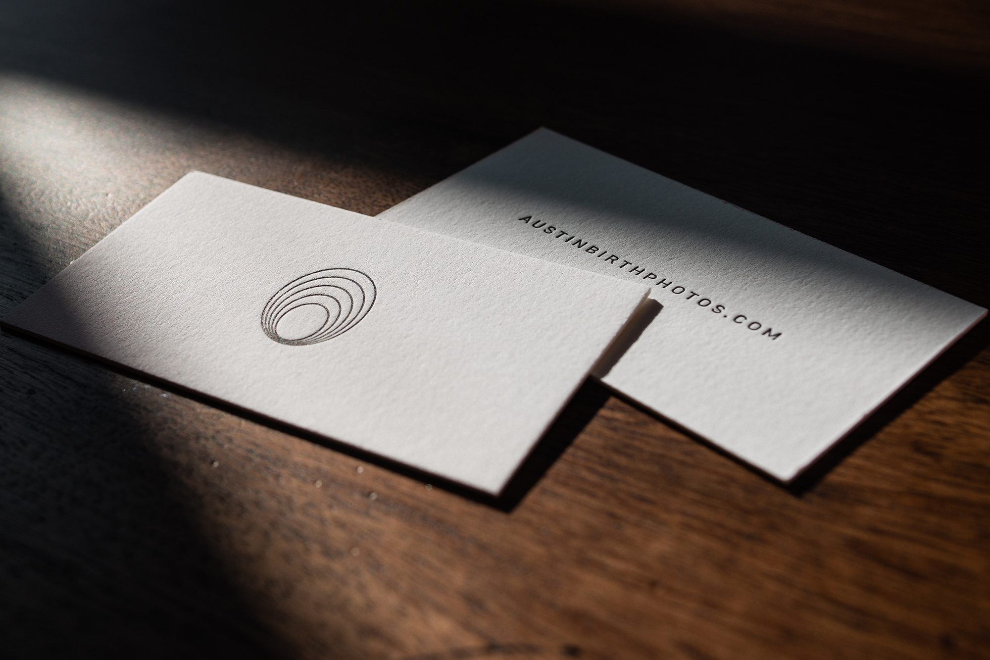 luxury business cards for photographers