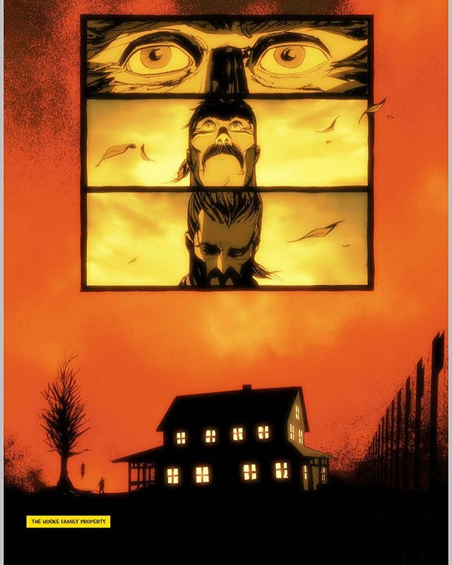 Coming soon. @the_black_birch is a mystery / thriller graphic novel from myself and Juan Doe. 🙌🏻 Follow for more info👌🏻