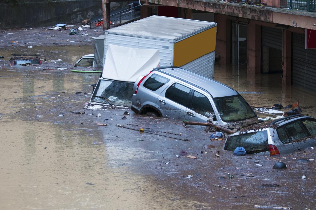 Flood Damage -