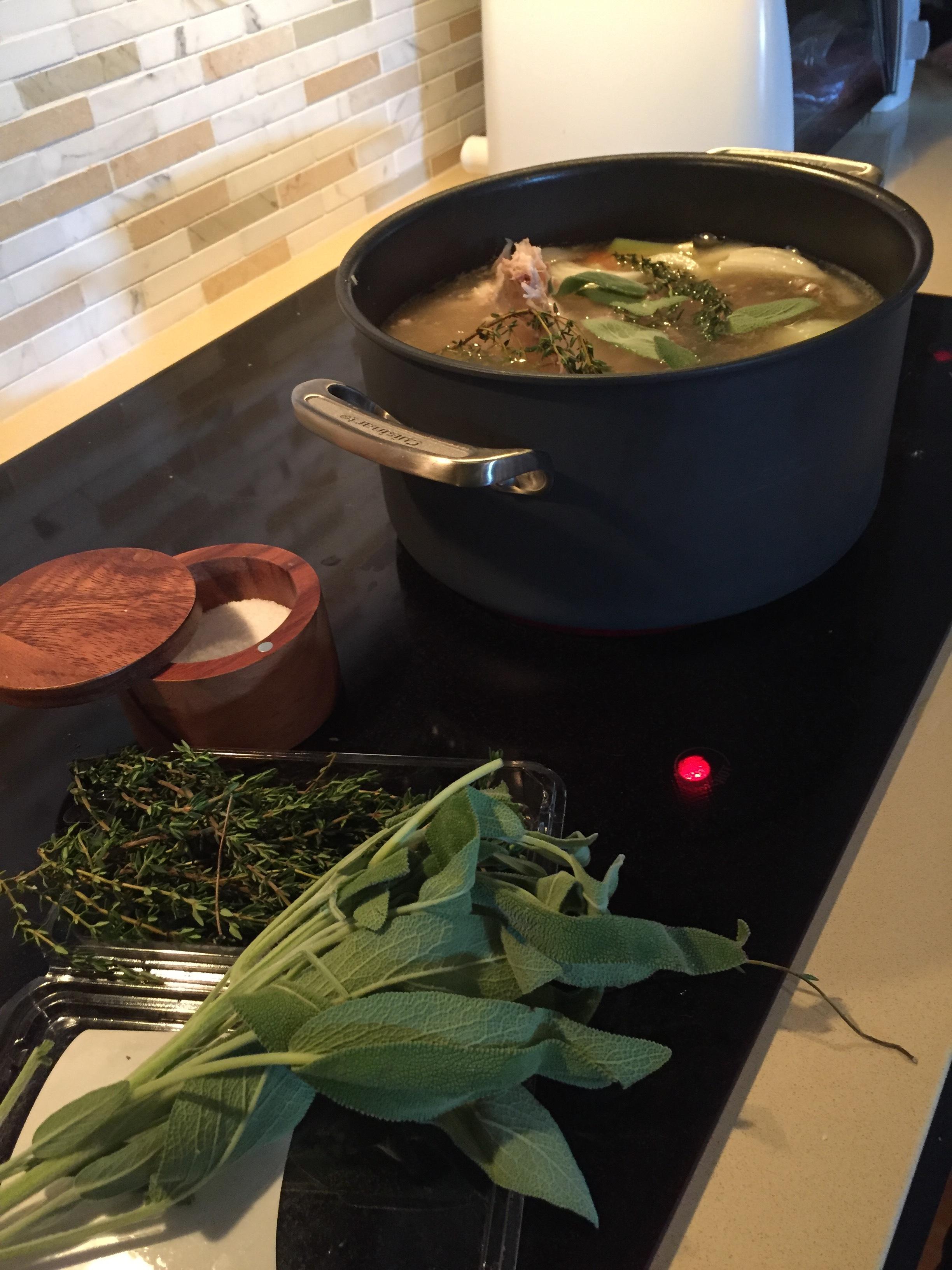 Thanksgiving Turkey Soup