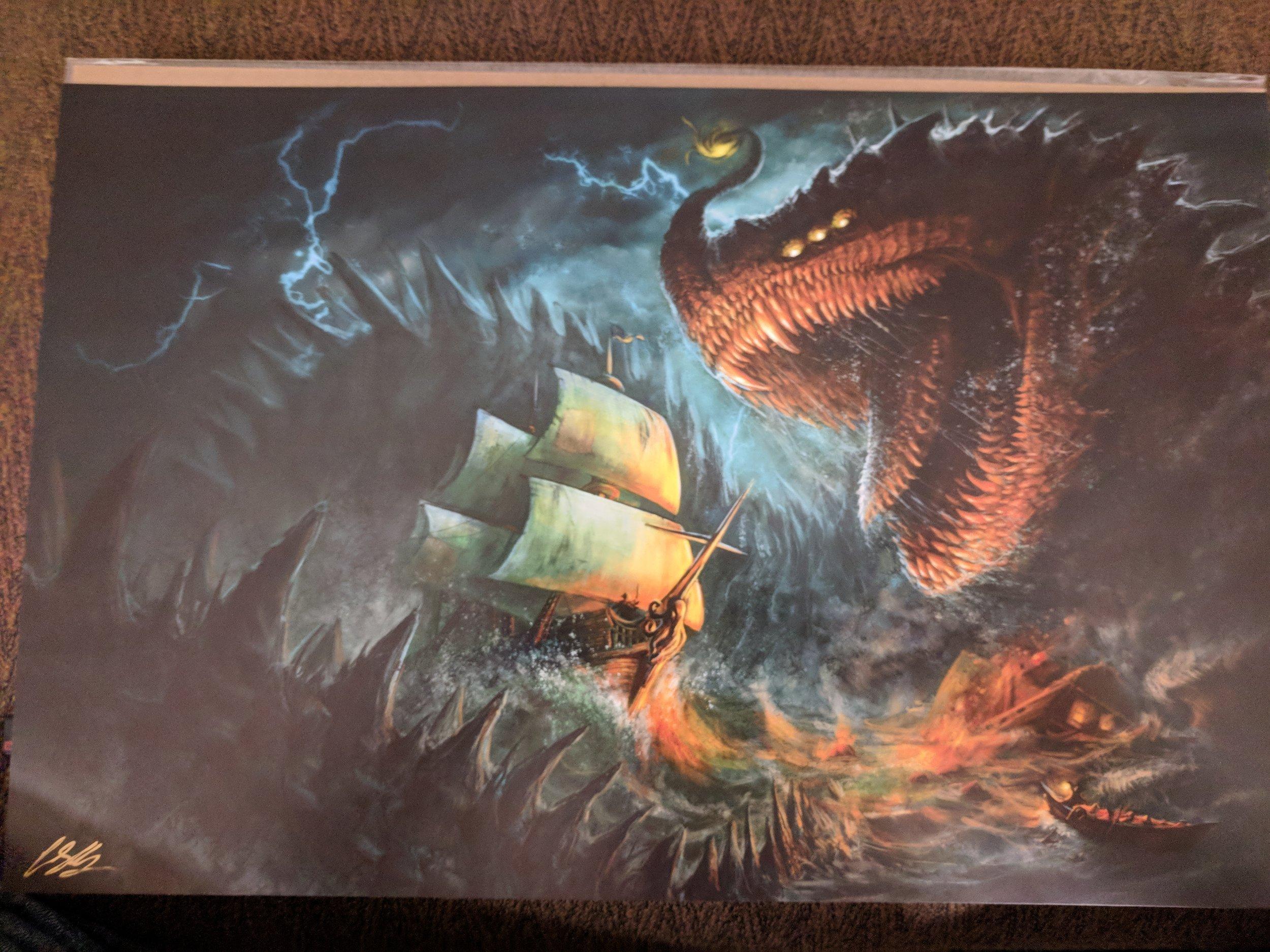 """The Kraken Hunter"" by Crystal Sully"