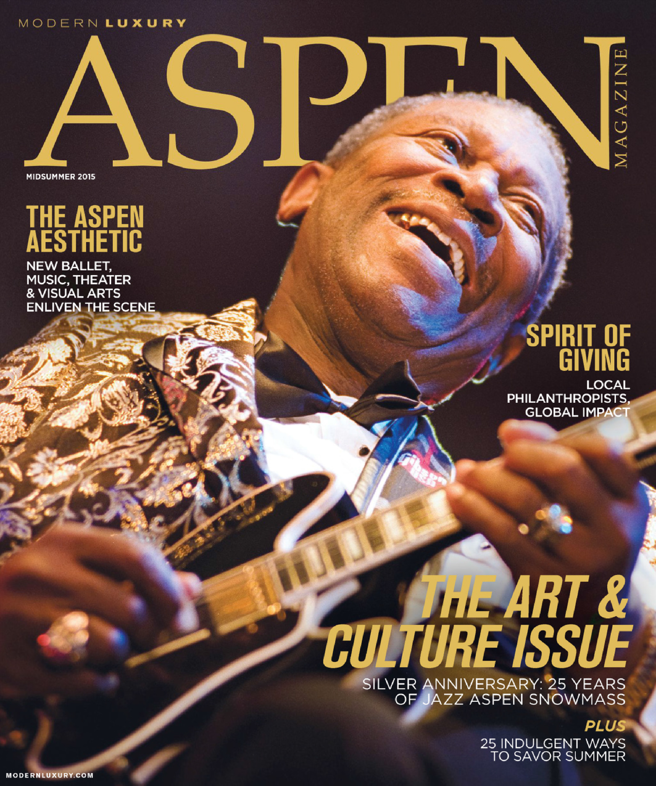 Editor and marketing work: Aspen Magazine's Midsummer Issue  2015