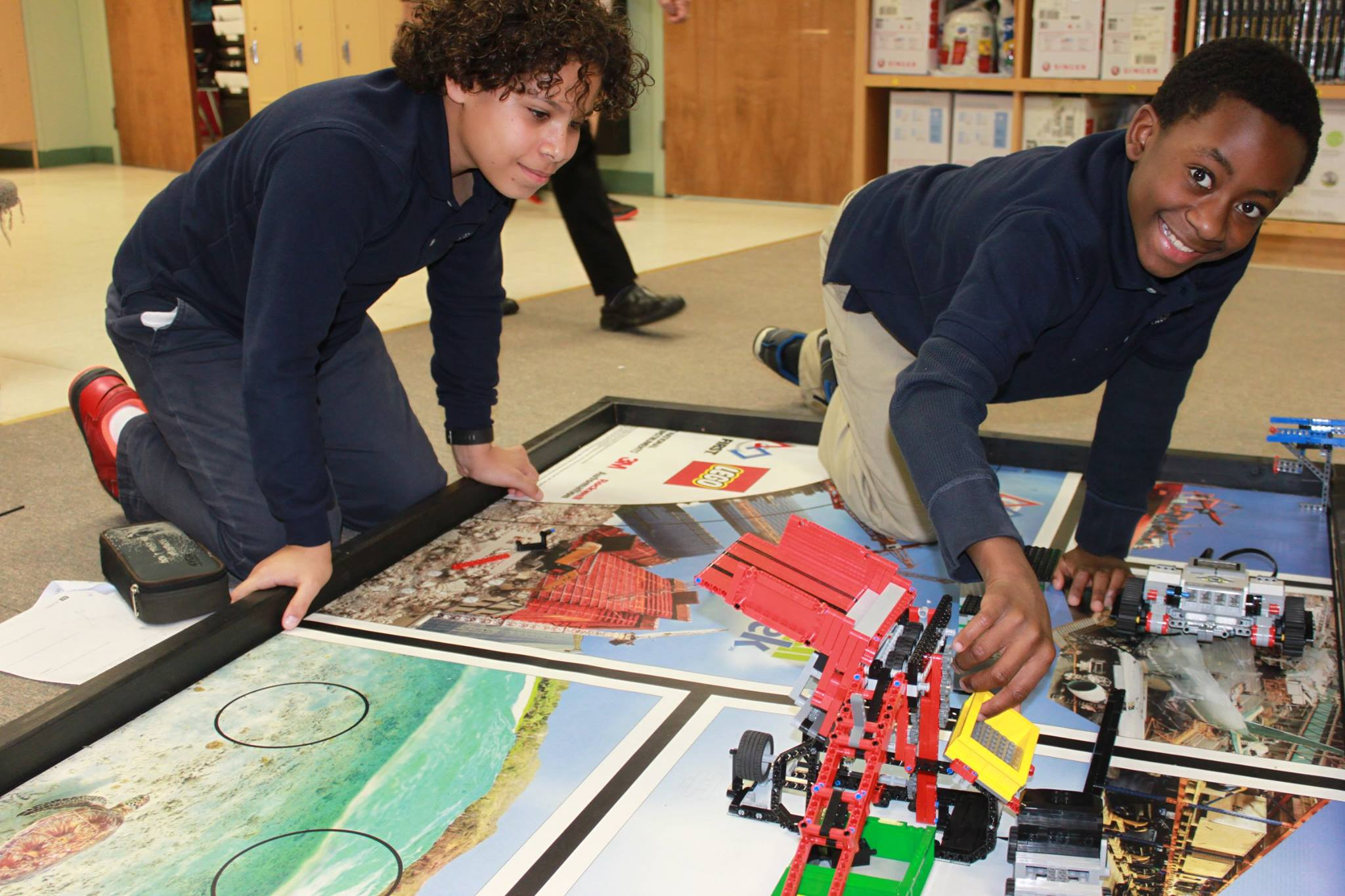Robotics at Side By Side Charter School
