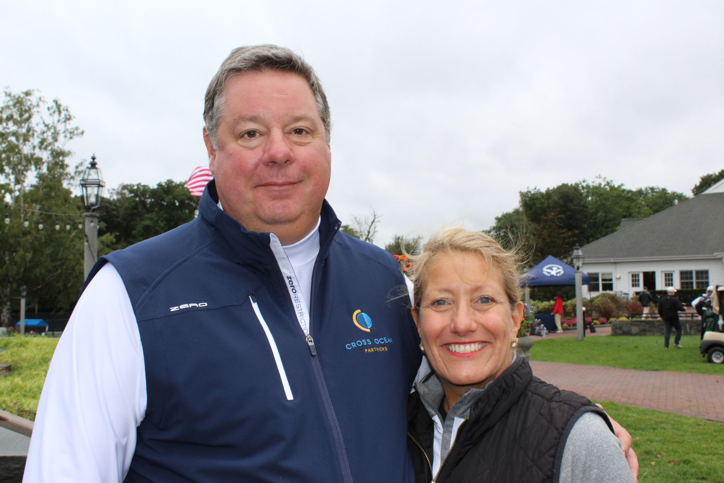 Event committee members, Michael Gregorich and Carol Howe