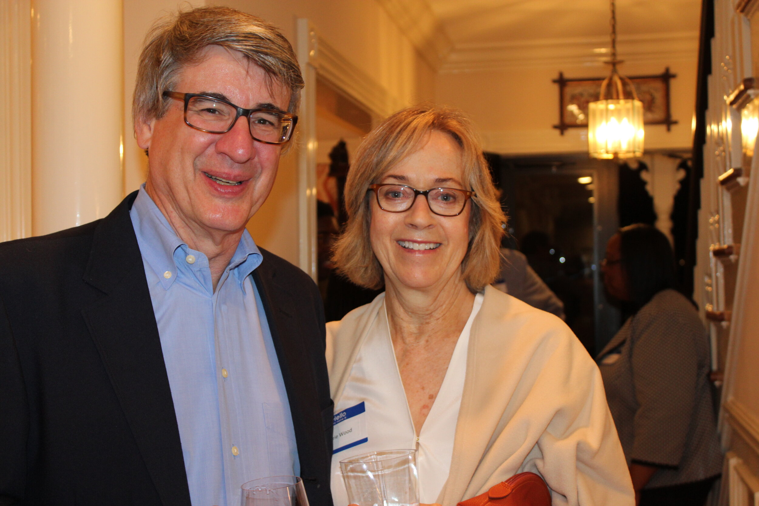 Longtime Carver advocates, Rich Baskin and Terrie Wood who is a member of the Connecticut House of Representatives representing Darien and Rowayton