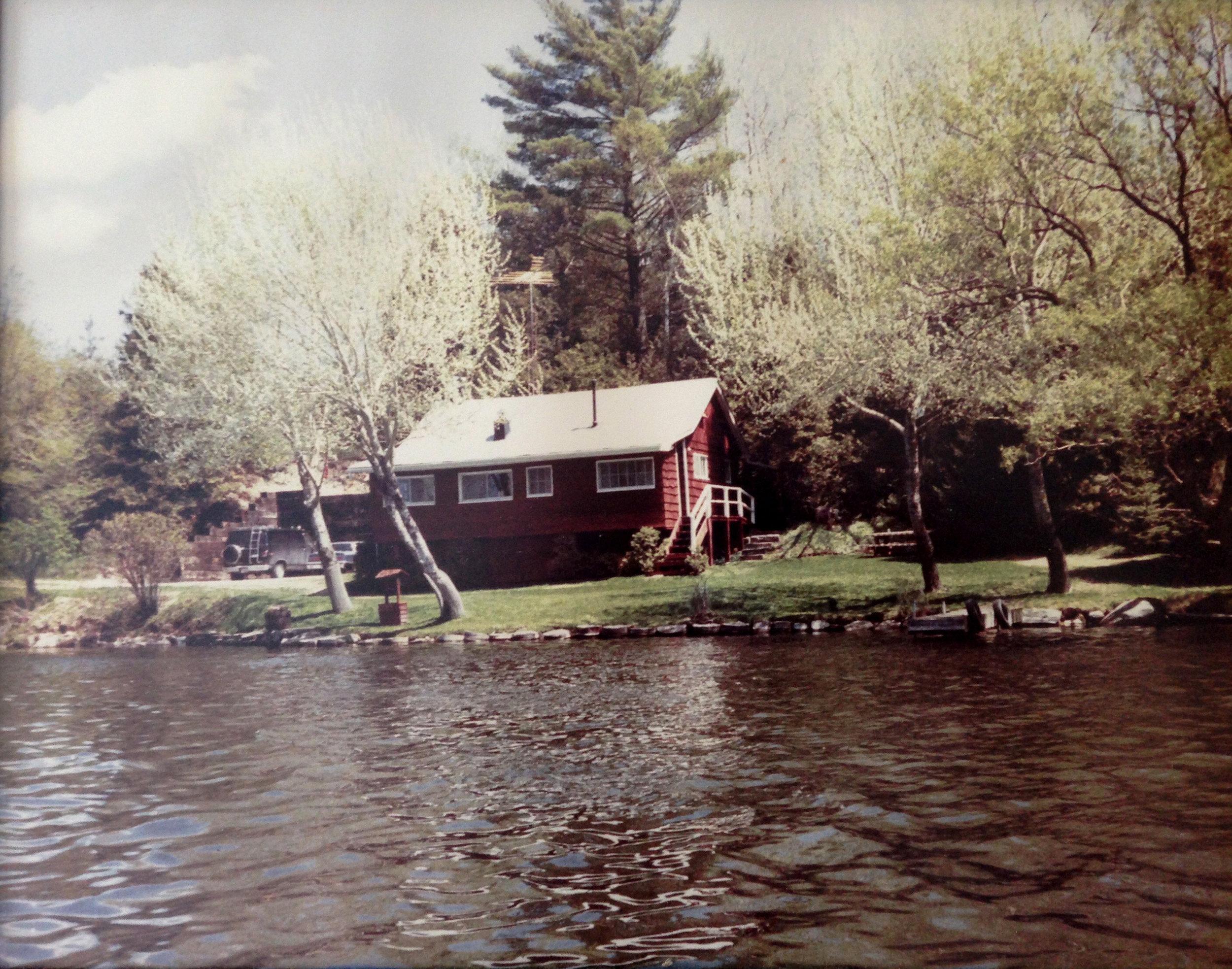 Second cottage.