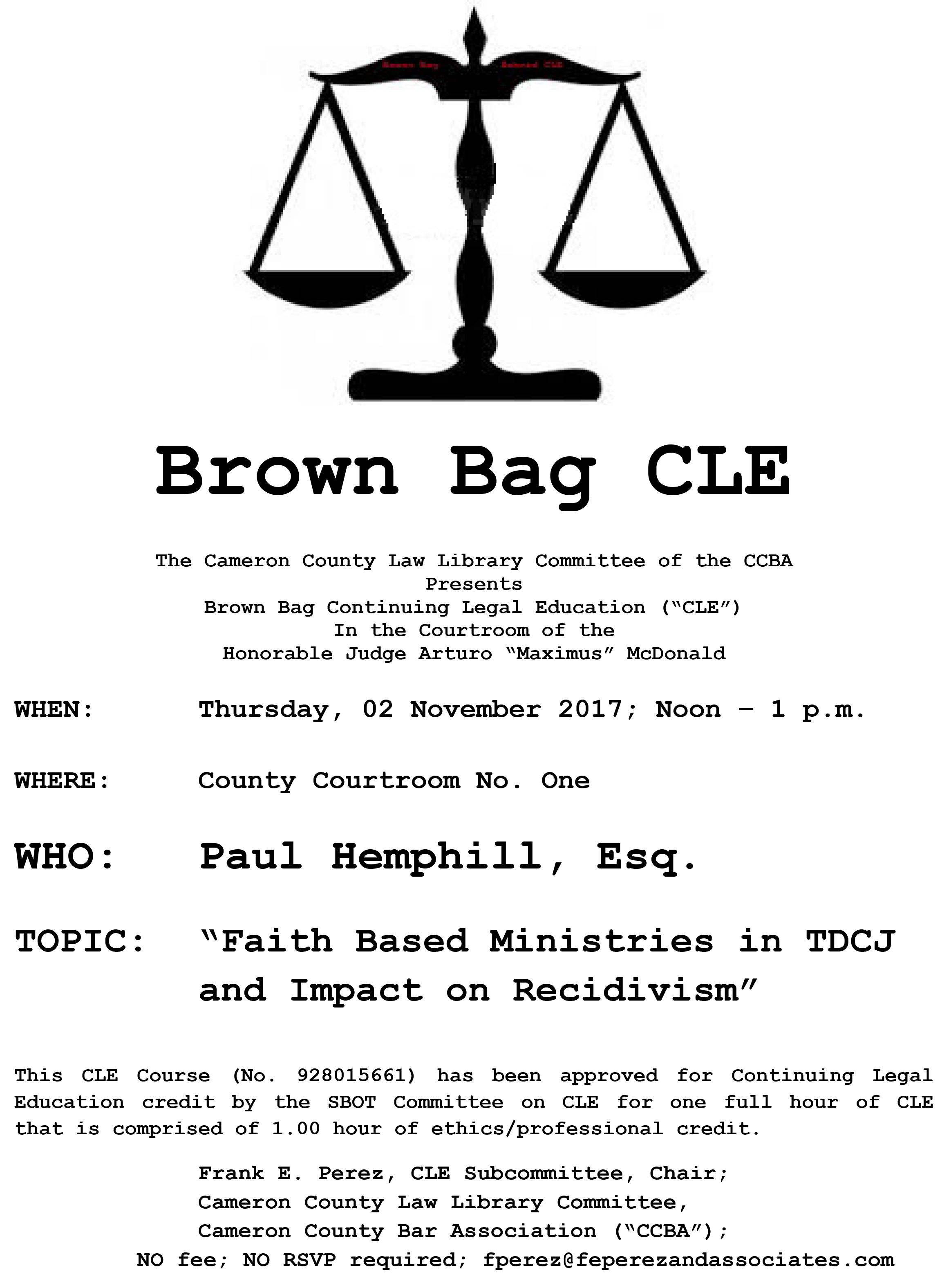 Brown Bag Flyer for Nov 2, 2017.jpg