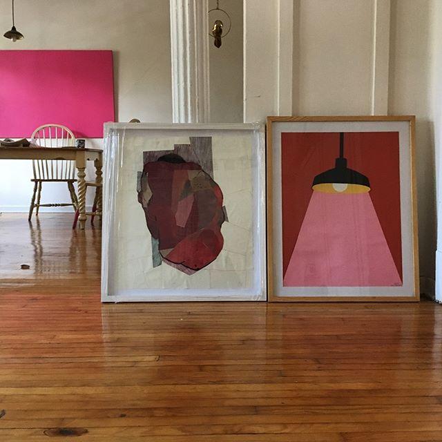"""Se ven bien juntos - @sophieverdespan  a la derecha. Esta pieza está vendida, pero todavía queda unas piezas más de """"Artificio Natural"""" en @casaequis"""
