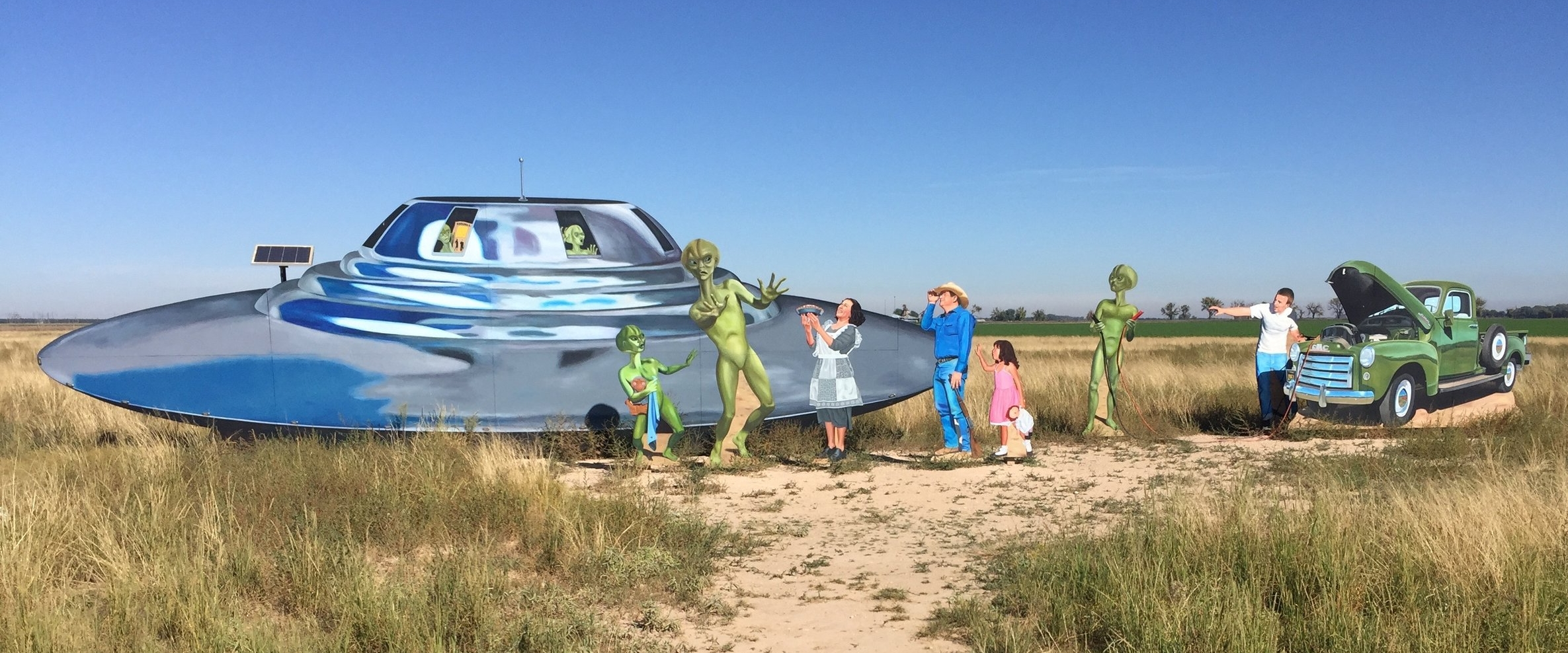 Outside Roswell
