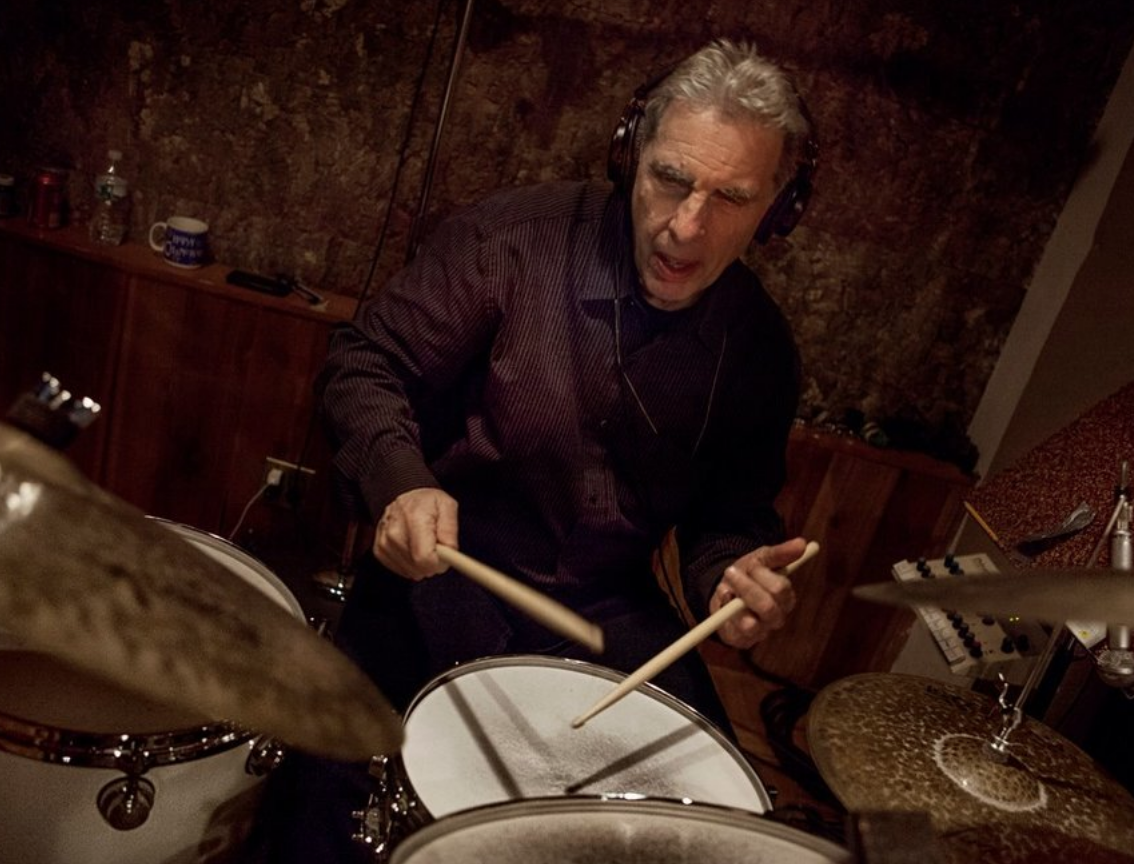 """- """"He's a great jazz drummer—and he hasn't lost any of the stuff that he brought from Oakland. So now he's totally free to do both, and he does. The solo he played on the album Thrust, on the song """"Actual Proof,"""" is one of the best drum solos on any of my albums. So many people have remarked about that solo, saying, 'Incredible.'""""-Herbie Hancock"""