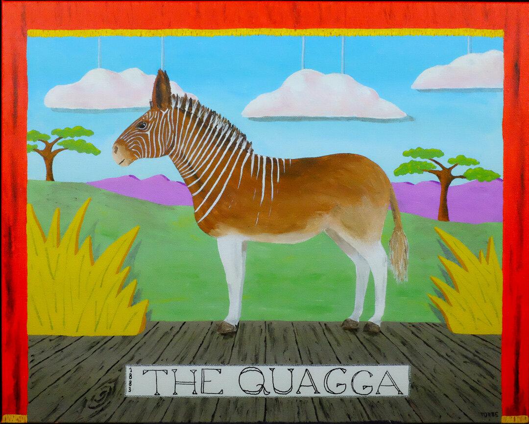 Extinct Animal #1: The Quagga