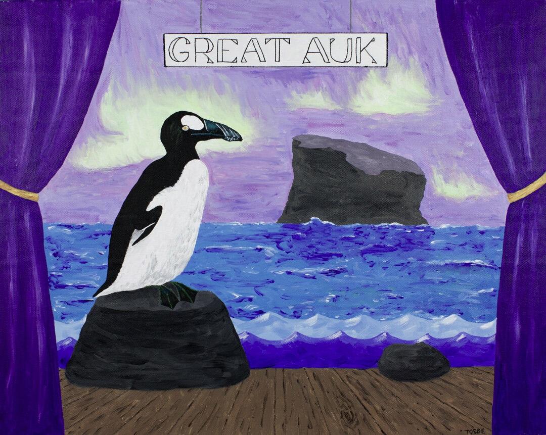 Extinct Animal #3: Great Auk