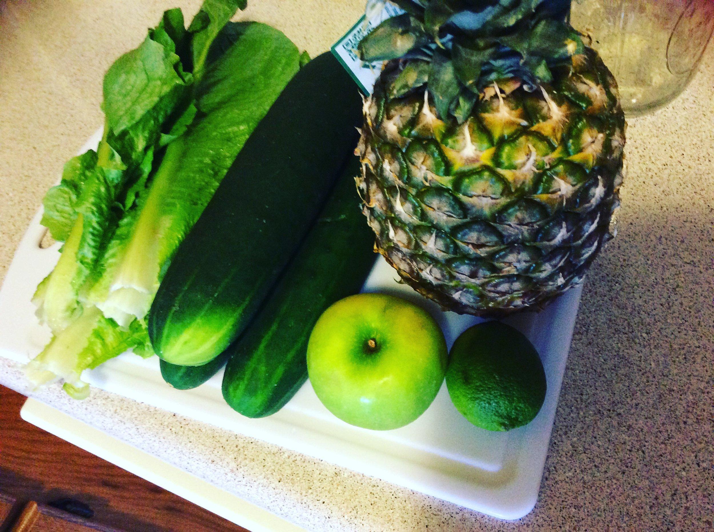Hawaiian Tropic Green Juice