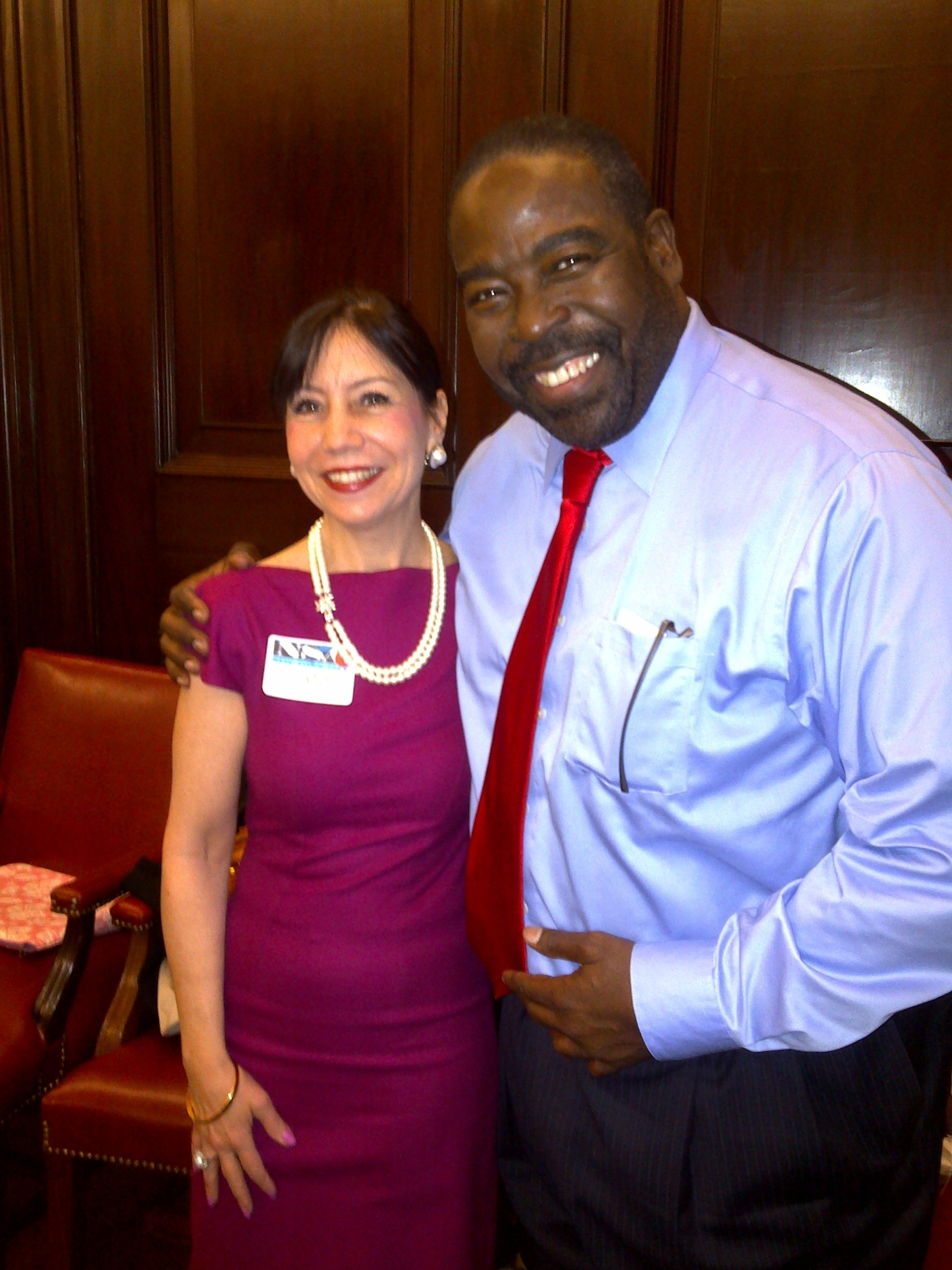 Les Brown and Diane