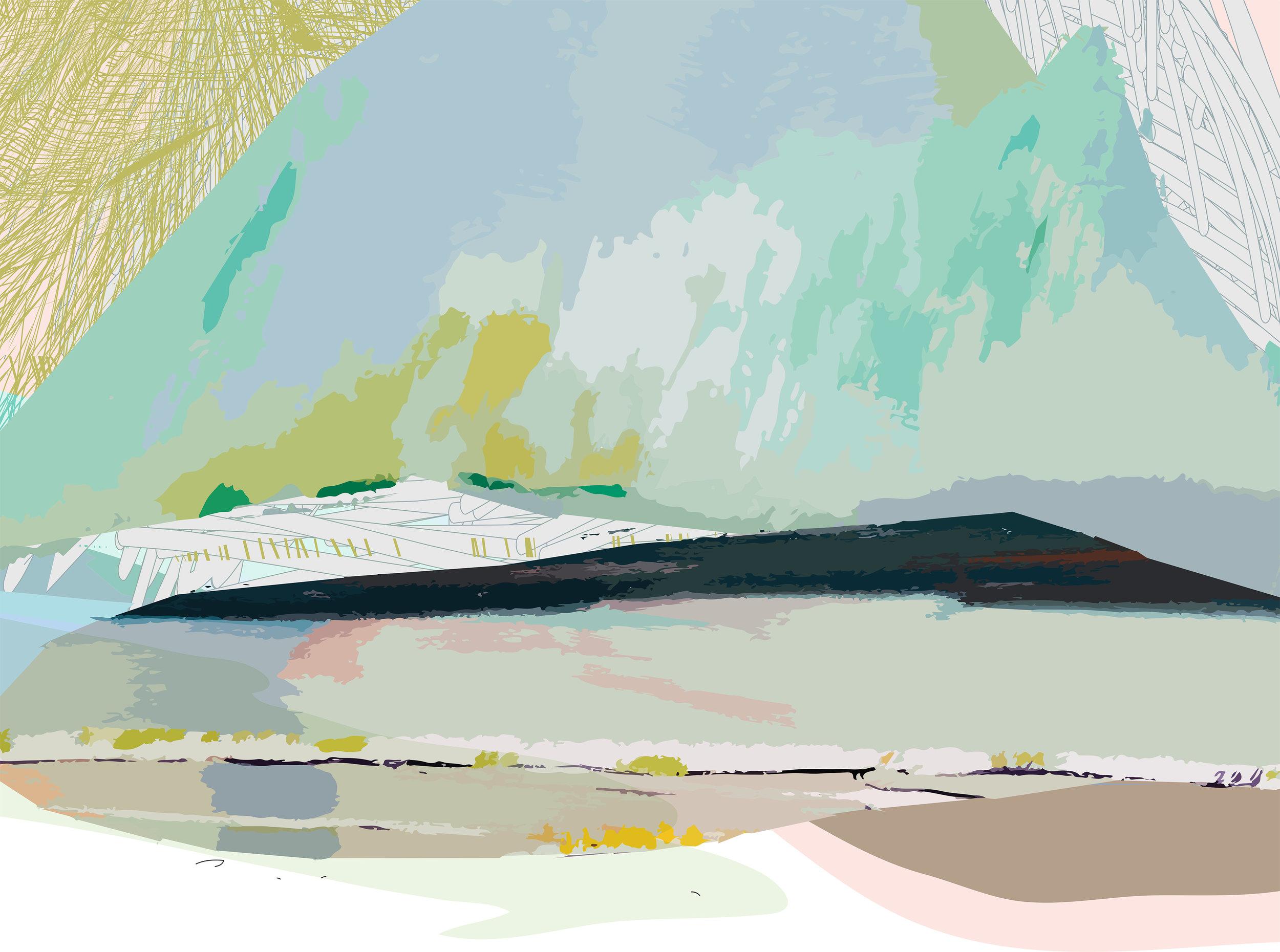Mountainous (detail)