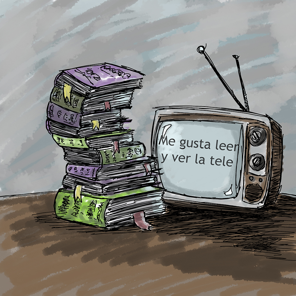 Me gusta leer y ver la tele - In this Spanish-language podcast, Mario discusses what he's been reading and watching that week. Episodes on books air every Monday, and episodes on movies and TV shows air every Thursday.