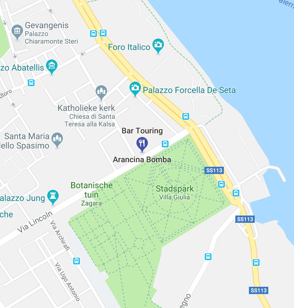 Arancina bomba in Palermo
