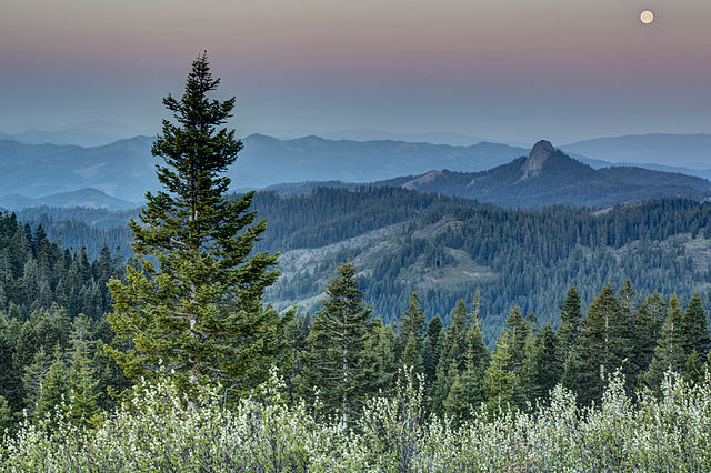 Views from Cascade Siskiyou National Monument