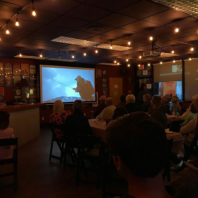 Thanks to everyone that came out to our movie night last night. Glad to spend the evening talking fish with y'all . . . #conservation #flyfishing #wildsalmon #coastalculture #conserve #protect #restore #troutunlimited #artifishal