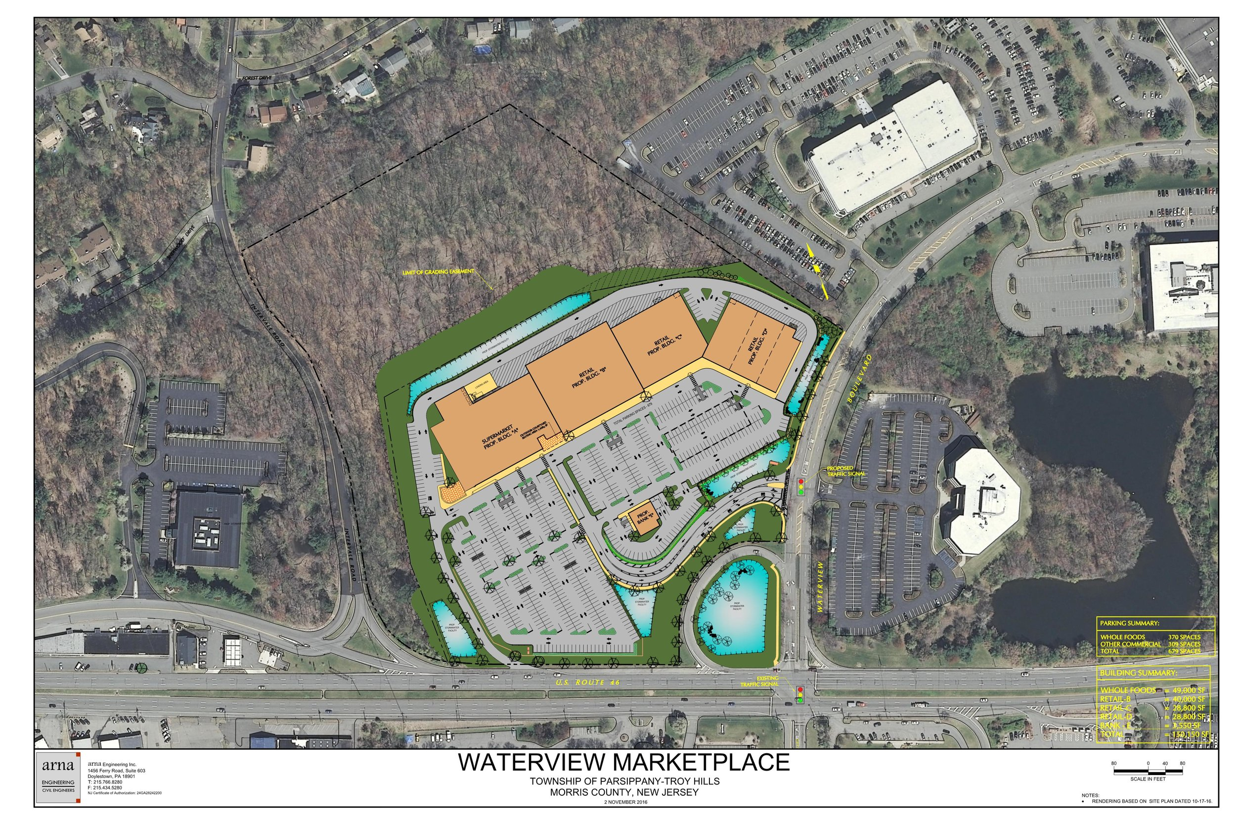 Waterview Marketplace, Parsippany, New Jersey